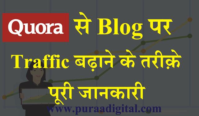 Quora से Blog पर Traffic कैसे बढ़ायें